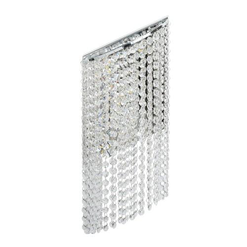 Lampă de perete Clarissa Crystal 5 Chrome - 437022105