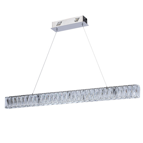 Lampa suspendată Goslar Crystal 180 Chrome - 498012801