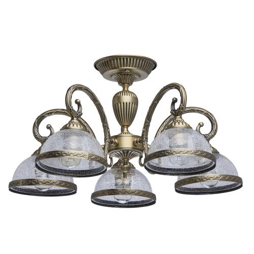 Lampa suspendată Amanda Classic 5 Brass - 481011805