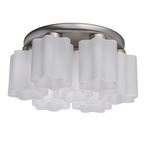 Lampa suspendată Ilonika Megapolis 7 Silver - 451011407