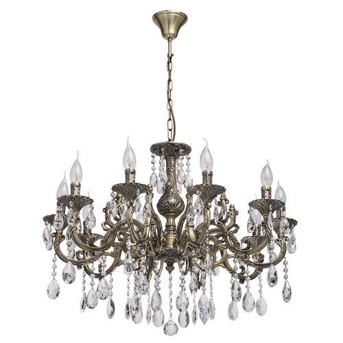 Lampa suspendată Toscana Classic 10 Brass - 685010110