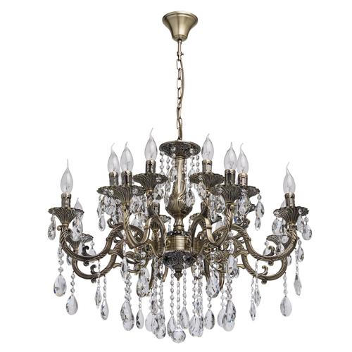 Lampa suspendată Toscana Classic 16 Brass - 685010216