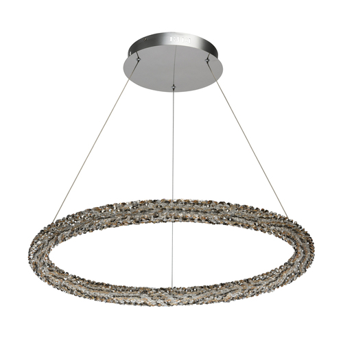 Lampa suspendată Goslar Crystal 1 Chrome - 498014101