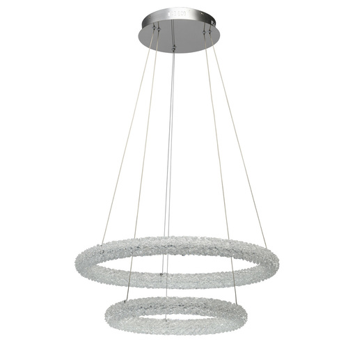 Lampa suspendată Goslar Crystal 48 Chrome - 498014202