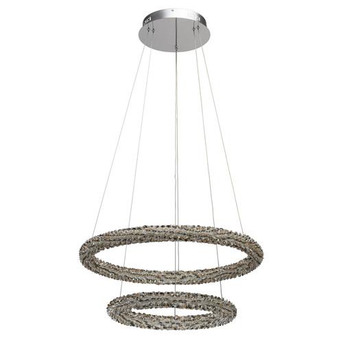 Lampa suspendată Goslar Crystal 48 Chrome - 498014302