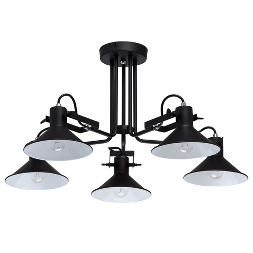 Lampa suspendată Town Loft 5 Black - 691010805