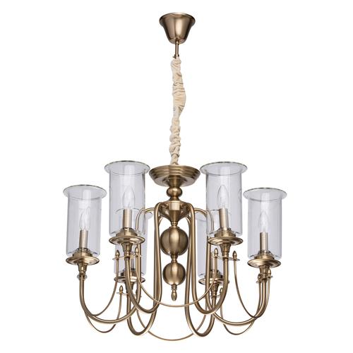 Lampa suspendată Amanda Classic 6 Brass - 481012606