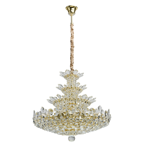 Lampa suspendată Laura Crystal 26 Aur - 345011226