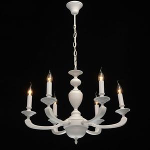 Lampa suspendată DelRey Classic 6 White - 700011606 small 1