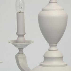Lampa suspendată DelRey Classic 6 White - 700011606 small 2