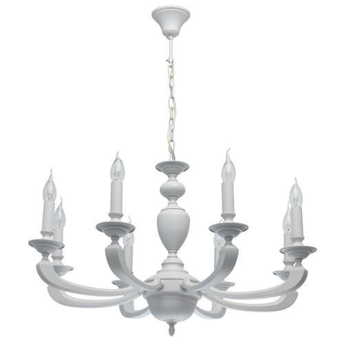 Lampa suspendată DelRey Classic 8 White - 700011708