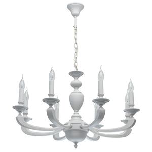 Lampa suspendată DelRey Classic 8 White - 700011708 small 0