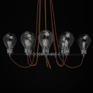 Lampa suspendată Hamburg Loft 8 Chrome - 699010408 small 4