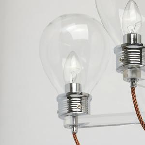 Lampa suspendată Hamburg Loft 8 Chrome - 699010408 small 5