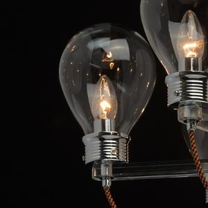 Lampa suspendată Hamburg Loft 8 Chrome - 699010408 small 6