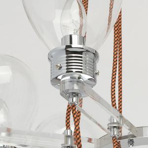 Lampa suspendată Hamburg Loft 8 Chrome - 699010408 small 7