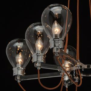 Lampa suspendată Hamburg Loft 8 Chrome - 699010408 small 8