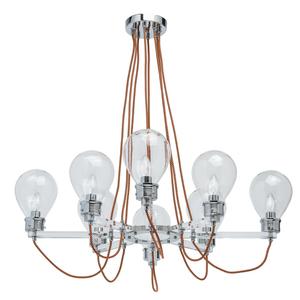 Lampa suspendată Hamburg Loft 8 Chrome - 699010408 small 0