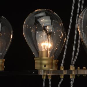 Lampa suspendată Hamburg Loft 8 Brass - 699010708 small 7