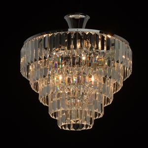 Lampă cu pandantiv Adelard Crystal 5 Chrome - 642010705 small 1