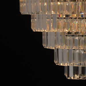 Lampă cu pandantiv Adelard Crystal 5 Chrome - 642010705 small 6