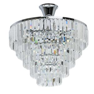 Lampă cu pandantiv Adelard Crystal 5 Chrome - 642010705 small 0