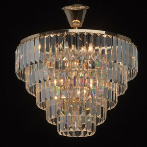 Lampa cu pandantiv Adelard Crystal 5 Gold - 642010805 small 1