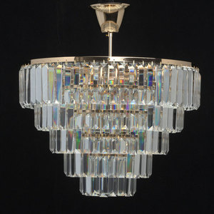 Lampa cu pandantiv Adelard Crystal 5 Gold - 642010805 small 3