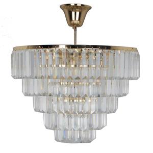 Lampa cu pandantiv Adelard Crystal 5 Gold - 642010805 small 0