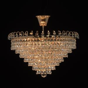 Lampă cu pandantiv Adelard Crystal 5 Gold - 642011005 small 1