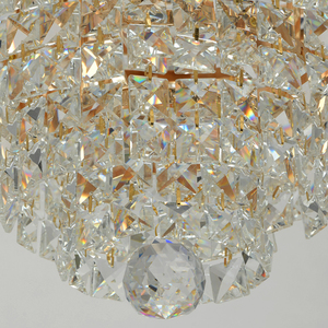 Lampă cu pandantiv Adelard Crystal 5 Gold - 642011005 small 4