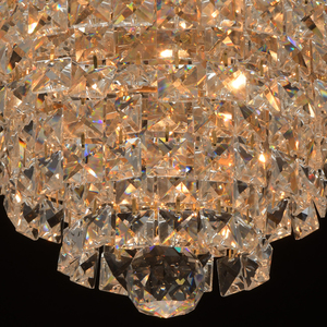 Lampă cu pandantiv Adelard Crystal 5 Gold - 642011005 small 5