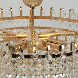 Lampă cu pandantiv Adelard Crystal 5 Gold - 642011005 small 8