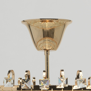 Lampă cu pandantiv Adelard Crystal 5 Gold - 642011005 small 2