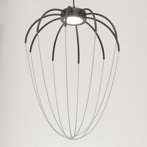 Lampa suspendată Stella Loft 9 Chrome - 412010401 small 5