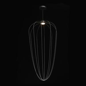 Lampa suspendată Stella Loft 12 Negru - 412010601 small 1