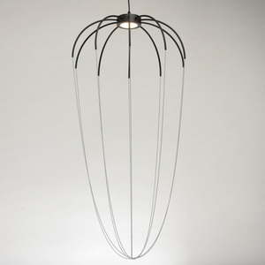 Lampa suspendată Stella Loft 12 Negru - 412010601 small 5