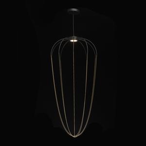 Lampa suspendată Stella Loft 12 Negru - 412010701 small 1