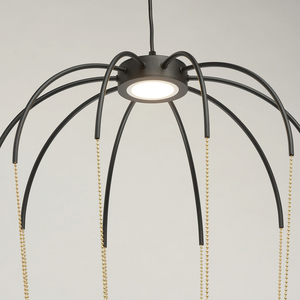 Lampa suspendată Stella Loft 12 Negru - 412010701 small 6