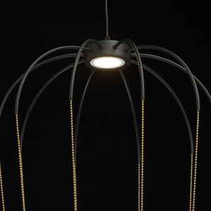 Lampa suspendată Stella Loft 12 Negru - 412010701 small 7