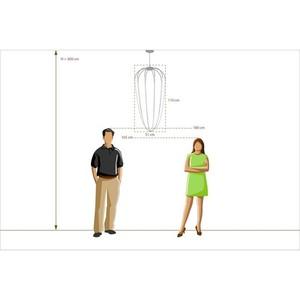 Lampa suspendată Stella Loft 12 Negru - 412010701 small 4