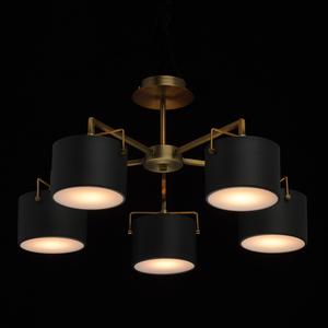 Lampă de tavan neagră Town Megapolis 5 alamă - 721010205 small 1