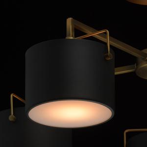 Lampă de tavan neagră Town Megapolis 5 alamă - 721010205 small 7