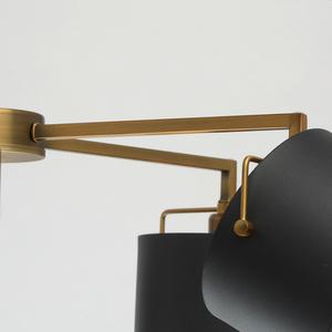 Lampă de tavan neagră Town Megapolis 5 alamă - 721010205 small 9