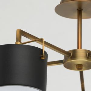 Lampă de tavan neagră Town Megapolis 5 alamă - 721010205 small 11