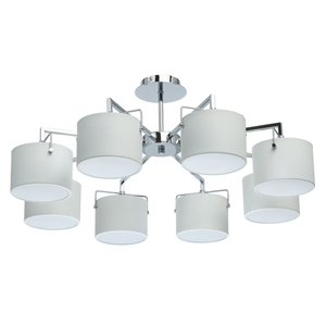 Lampa suspendată Town Megapolis 8 Chrome - 721010308 small 0