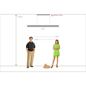 Lampa suspendată Hi-Tech 48 Chrome - 675013403 small 2