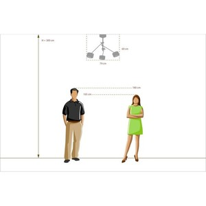 Lampa suspendată Chill-out Hi-Tech 3 Silver - 725010103 small 2