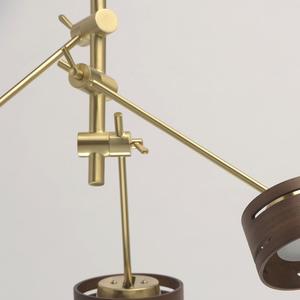 Lampă cu pandantiv Chill-out Hi-Tech 3 Gold - 725010203 small 6
