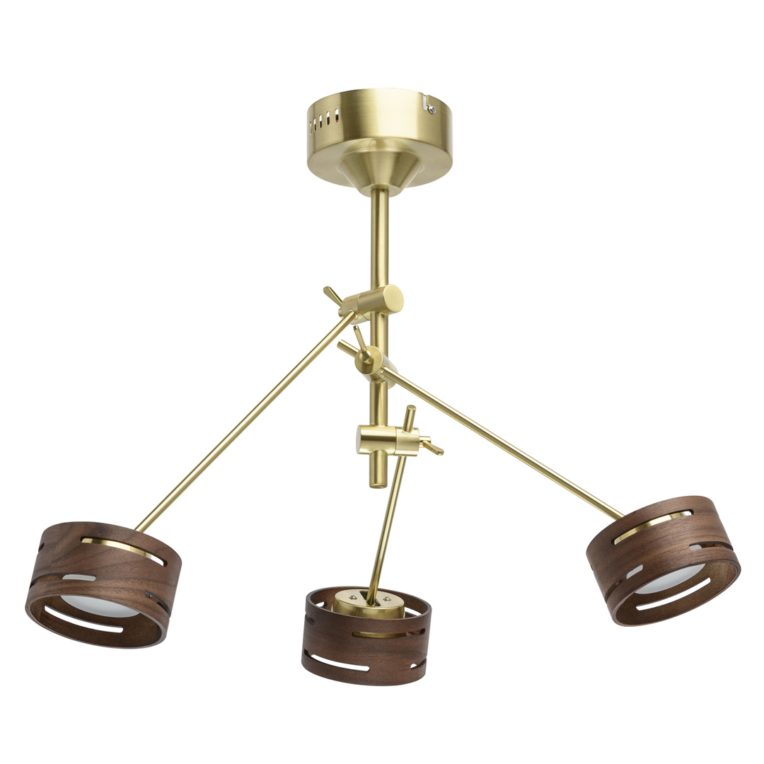 Lampă cu pandantiv Chill-out Hi-Tech 3 Gold - 725010203